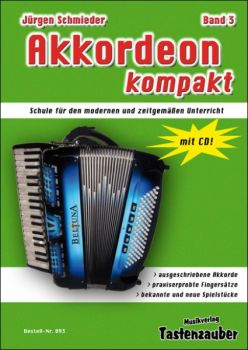 Akkordeon Kompakt 3 incl. CD