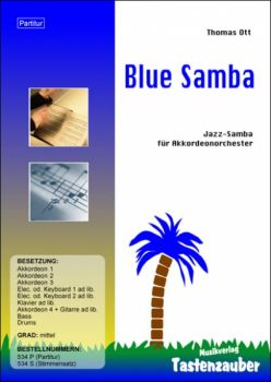 Blue Samba / Partitur