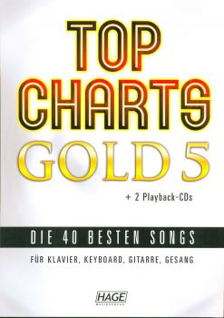 Top Charts Gold 5 incl. 2 CDs