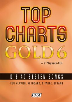 Top Charts Gold 6 incl. 2 CDs