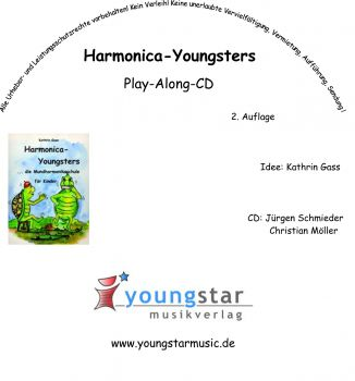 Harmonica-Youngsters CD