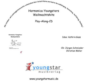 Harmonica-Youngsters Weihnachtshits CD