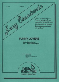 Funny Lovers / Partitur