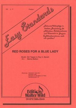 Red roses for a blue lady / Partitur