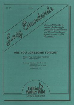 Are you lonesome tonight / Partitur