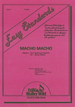 Macho Macho / Partitur