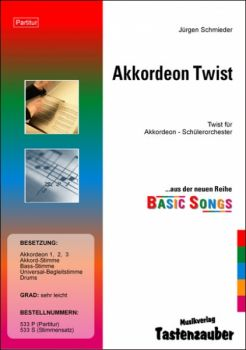 Akkordeon Twist / Partitur