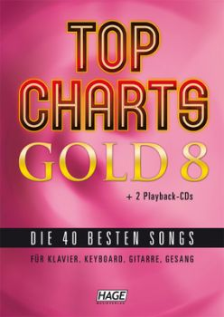 Top Charts Gold 8 incl. 2 CDs