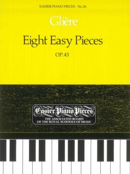 Eight Piano Pieces Op. 43