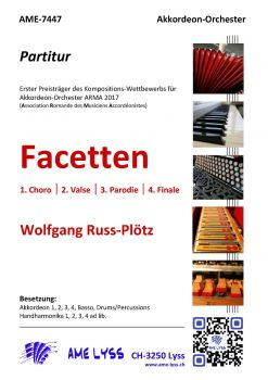 Facetten / Partitur
