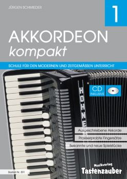 Akkordeon Kompakt 1 incl. CD