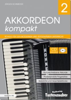 Akkordeon Kompakt 2 incl. CD