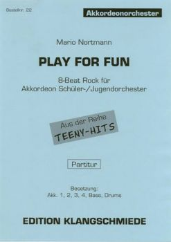 Play for fun / Partitur