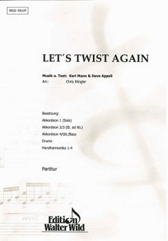 Let's Twist again / Partitur