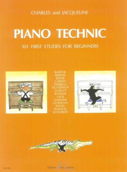 piano etudes for beginners pdf